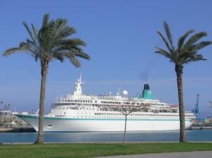 An Bord von MS Albatros das neue Lebensjahr beginnen