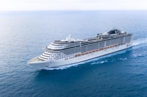 New Fantasia-Klasse - das MSC Flaggschiff Preziosa ist getauft und startet in die Saison