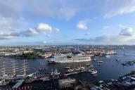 Taufe  der AIDAmar im Hamburger Hafen beim  Hafen Geburtstag  2012