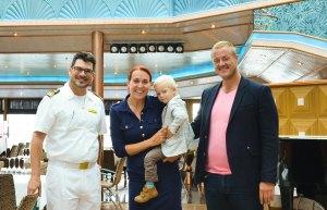 Costa Luminosa_Jüngester deutscher Teilnehmer der Weltreise
