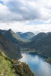 Postkartenfoto: Der Geirangerfjord.