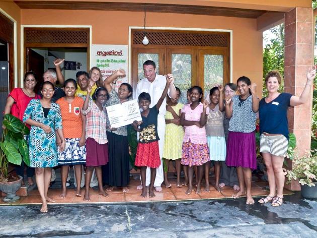 MS HAMBURG Spendenübergabe Sri Lanka 2016