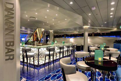 Diamant Bar an Bord der Mein Schiff 4