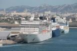 Marseille 11.06.16 3 Schiffe