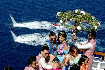 First private cruise wedding on Costa Fascinosa_Sana & Adel 2