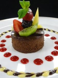 Oceania Cruises_Vegan Chocolate Cheesecake