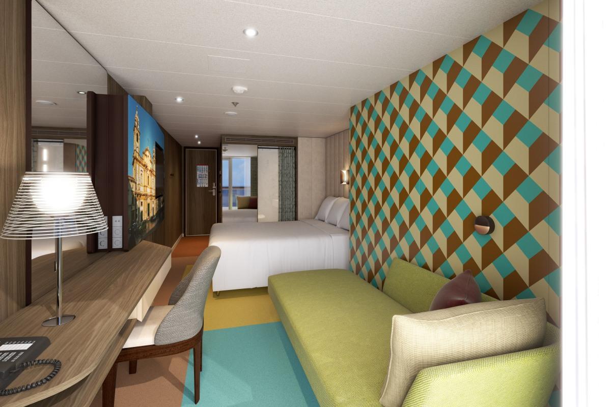Costa Smeralda: Erste Einblicke in das Kabinendesign der neuen Costa Kreuzfahrtschiffe