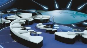 PONANT - Underwater Lounge Blue Eye (c) Ponant - Jacques Rougerie Architecte