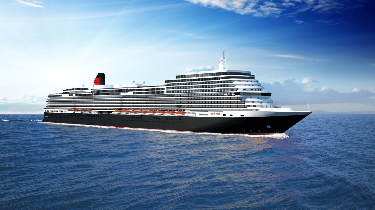 Auch Cunard kündigt Neubau an ....