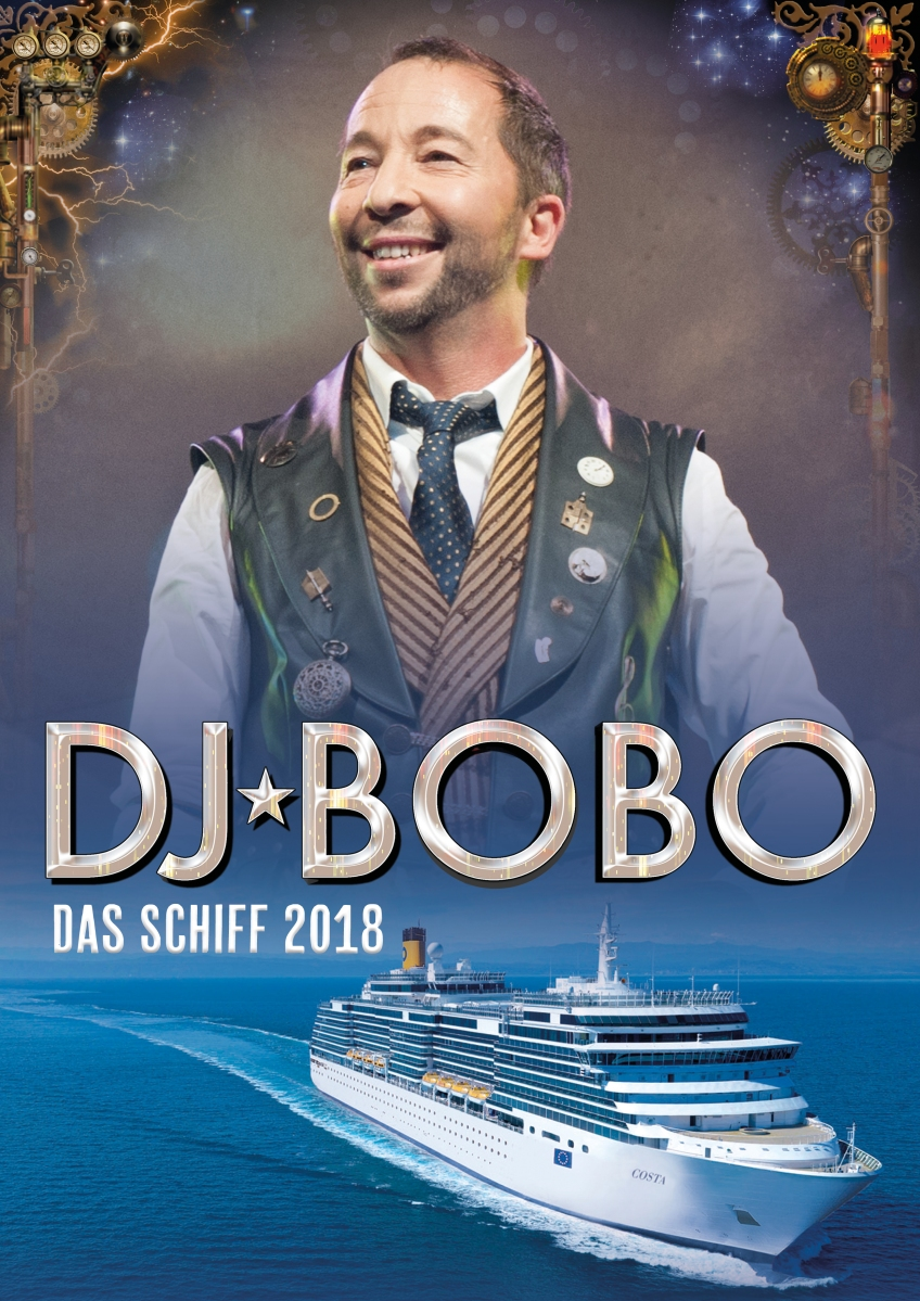 DJ Bobo feiert 25-jähriges Bühnenjubiläum an Bord der Costa Deliziosa