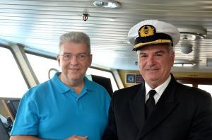 Kapitaen und Kreuzfahrtdirektor